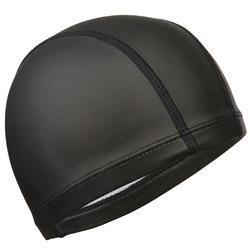 硅胶网布泳帽500 BLACK