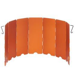 户外露营野餐炉头挡风板 - 橙色