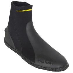 水肺潜水3mm氯丁橡胶加固鞋底固定脚蹼男女潜水靴 SUBEA ibili SCD BOOTS 3MM