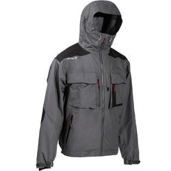 钓鱼夹克Fishing jacket 500 grey