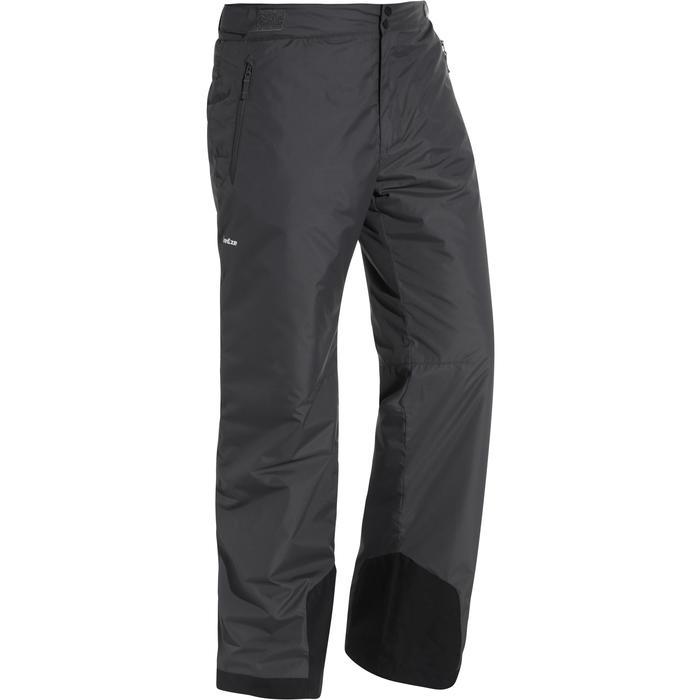 男式滑雪裤D-Ski 100 - Grey