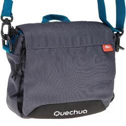 登山背负舒适腰包 QUECHUA Multi-compartment pouch - Grey