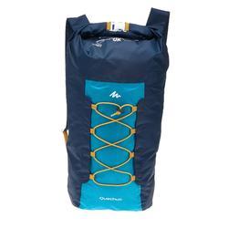 户外压缩背包 20 升 蓝色