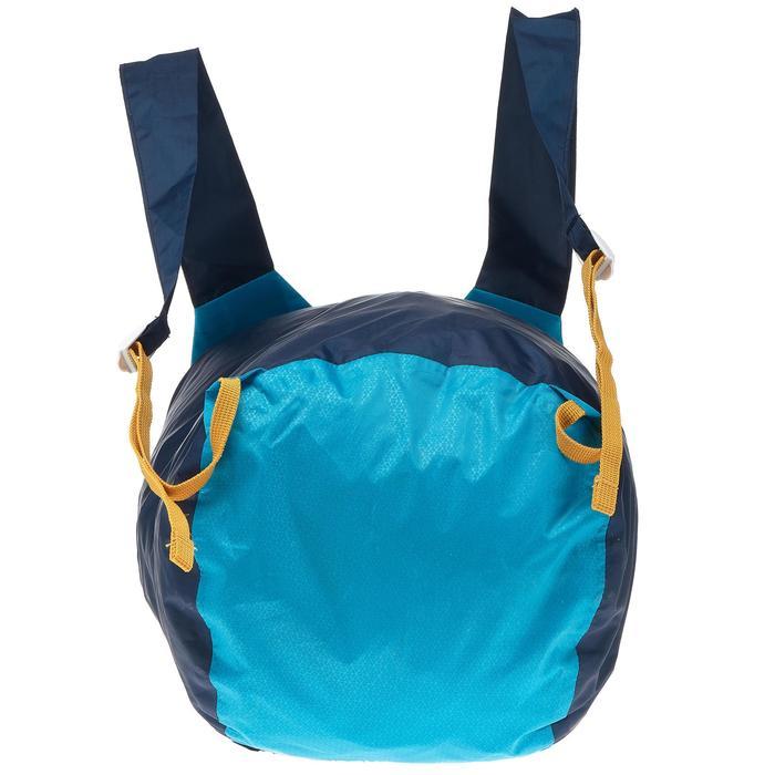 徒步旅行超压缩防水背包20L 蓝色