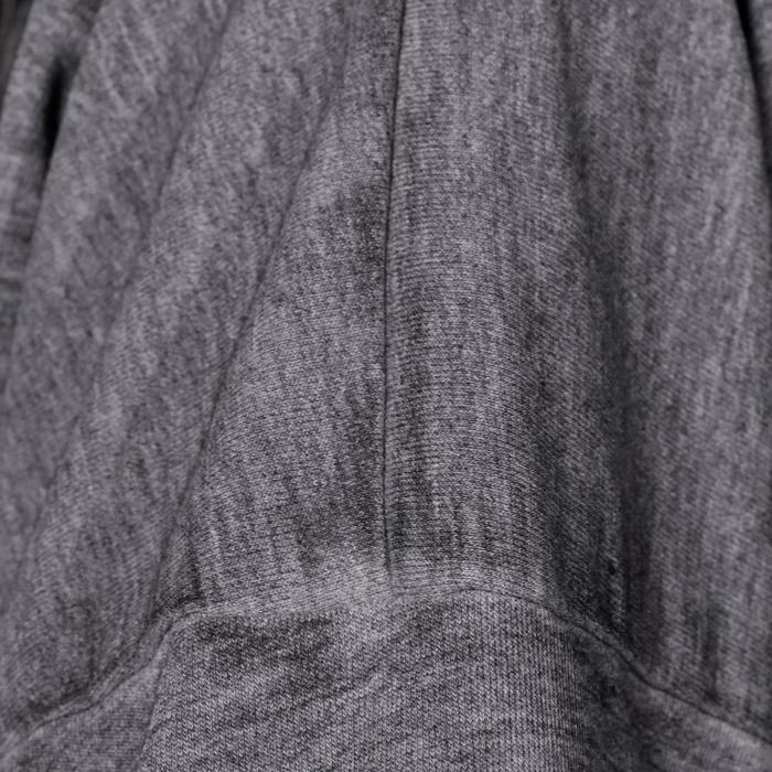 女童街舞七分运动衫 - 灰色