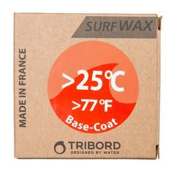 冲浪蜡用于25°C以上水温, 底蜡.