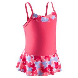 婴儿游泳裙Pink printed
