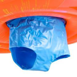 婴儿游泳座圈带视窗和把手Orange 11-15 kg