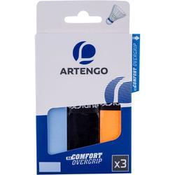 羽毛球运动吸汗舒适吸汗带3条装 ARTENGO COMFORT