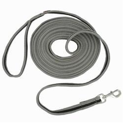 SOFT 马术牵引绳- 灰色/黑色