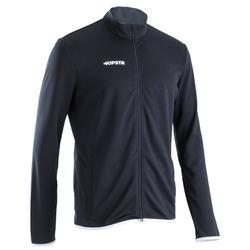 T100 Lightweight Adult Football Jacket - Black