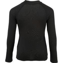 儿童滑雪内衣100 - Black