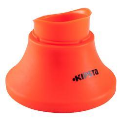 橄榄球运动可调节球座 KIPSTA 橙色