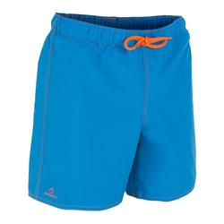 男童短款沙滩裤Hendaia - Prems Blue