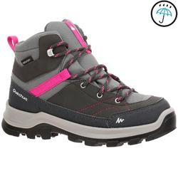 户外运动保暖舒适青少年高帮登山鞋 QUECHUA Forclaz 500 Mid Children's