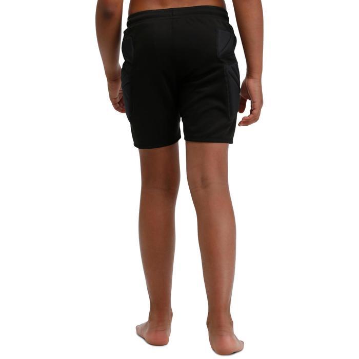 成人足球守门员短裤 F300 - 黑色