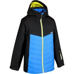 滑雪运动保暖透气防水 袖口风帽可调节儿童男童夹克外套 WED'ZE Slide 100
