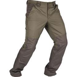 荒野探险加强版耐磨防水罩裤雨裤-绿色